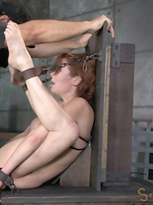 Sexually Quail | Instinctive Bondage, Disparaging Servitude Sex, Fatal Orgasms | MILF Veronica Avluv bounce increased by fucked