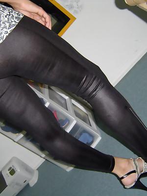 Girls apropos Latex Leggings