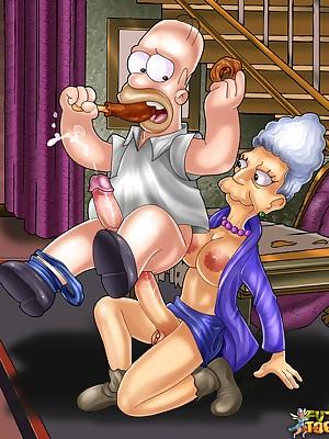 Simpson porn - FutaToon - shemale cartoons