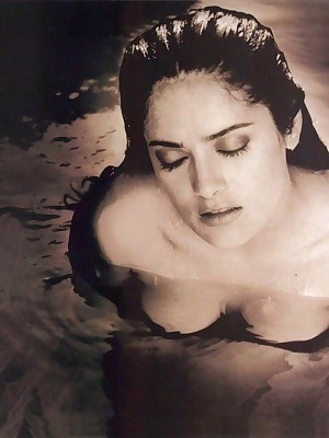 Reputation Venerate - Despondent Salma Hayek teases us wide will not hear of chunky breasts.
