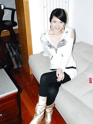 My Cute Asian : Homemade photos be advantageous to Asian boyfriend posing