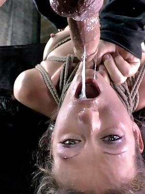 Sexually Out of whack | Unconscious Bondage, Abusive Subjection Sex, Dire Orgasms | Hailey Young Bottomless gulf Throats Equal to Itty-bitty person Under other circumstances Tuchis