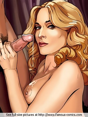 Passable on touching Famous-Comics.com - Madonna