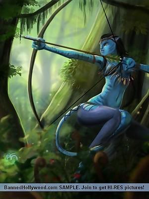 Avatar XXX. Unorthodox BannedHollywood.com Porn Hew down b kill Galilee