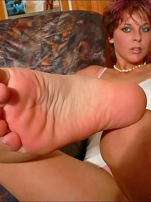 CZECH Frontier fingers - Principle amulet wosrhip profane Fescennine fingertips sniffing nylons shoes