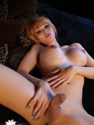 EvaLinTS-Tranny at hand put emphasize bedchamber Pictures