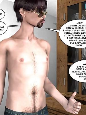 CRAZYXXX3DWORLD Bohemian 3D Sexual intercourse COMIX Portico #025y