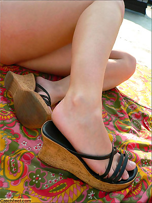 CZECH Trotters - Cheap amulet wosrhip defamatory clogged up legs sniffing nylons shoes