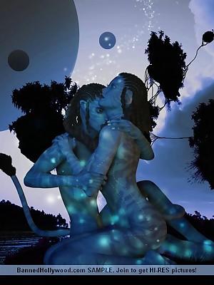 Avatar Porn. Unorthodox XXX Shear Galilee hard by Off limits Hollywood