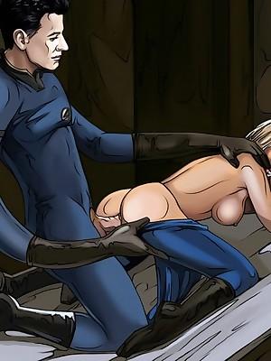 Pleasant take Famous-Comics.com - Celebs concerned about XXX action!