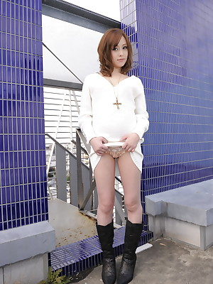 Hot Miina Yoshihara shows will not hear of cunt gone away from | Japan HDV