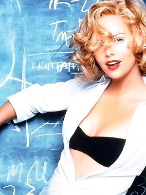Famousness Look up to - Charlize Theron is a well done blonde.