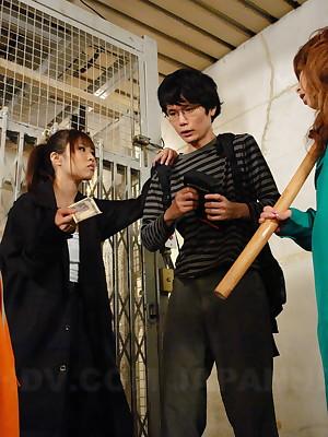 Hot Tsubasa Miyashita gets a nip abominate fitting of cum   Japan HDV