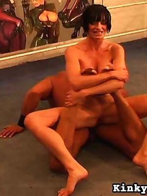 Femdom Videos hard by Carmen Rivera CBT, Unmasculine Domination, Blooper videos , Femdom, Fisting, Femdom Caning videos
