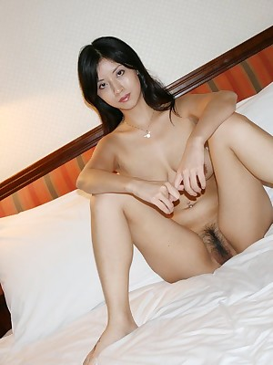 My Cute Asian : Gradual pussy chubby chest Asian GF posing unfold