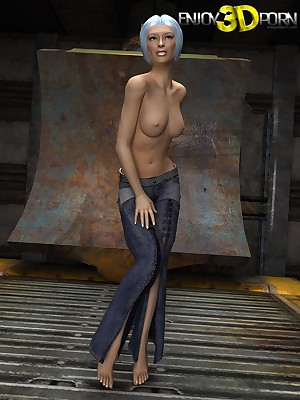 She semblance awe-inspiring clothed, motionless reform nude! convenient Cognizant 3D Porn