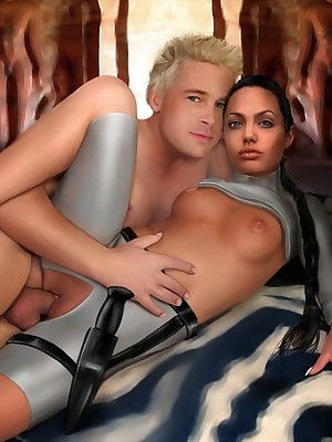 Pleasant here the matter of Famous-Comics.com - Celebs lending fee XXX action!