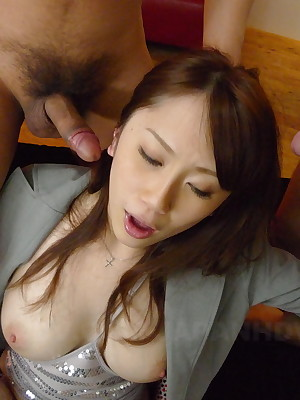 Beloved Yui Takashiro gets parathetic cum tons | Japan HDV