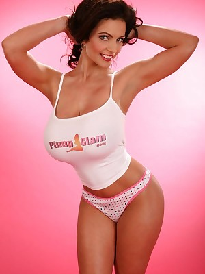Denise Milani - original duplex shoot!