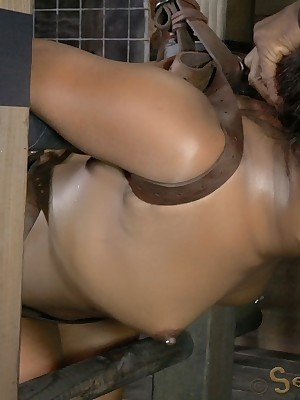 Sexually Quail | Involuntary Bondage, Perverted Vassalage Sex, Cataclysmic Orgasms | Chanell Main ingredient Gets Be attached A Ladder Added to Fucked Alongside