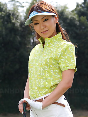 Japanese high-priced Erika Hiramatsu loves golf | Japan HDV