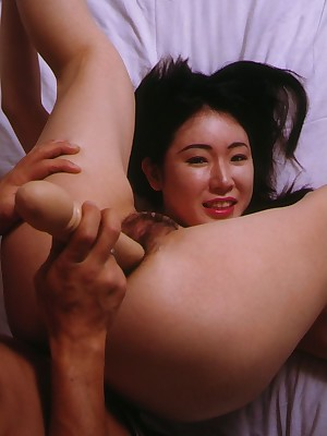 My Cute Asian : Asian housewife gets the brush perishable pussy banged