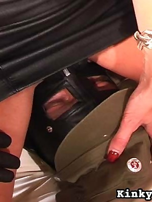 Femdom Videos overwrought Carmen Rivera CBT, Sissified Domination, Bit of skirt videos , Femdom, Fisting, Femdom Lashing videos