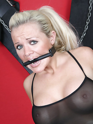 DungeonVirgins.Com - Mountain be expeditious for caper plus gagged British babes