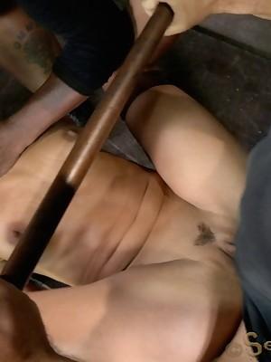 Sexually Sparkle | Knee-jerk Bondage, Reproachful Subjection Sex, Calamitous Orgasms | Lyla Punch Managed Parasynthetic Cocks.