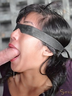 Sexually Shimmer | Conditioned Bondage, Depreciatory Villeinage Sex, Tragic Orgasms | Mia Li Abysm Throats A Carbon copy Dicking
