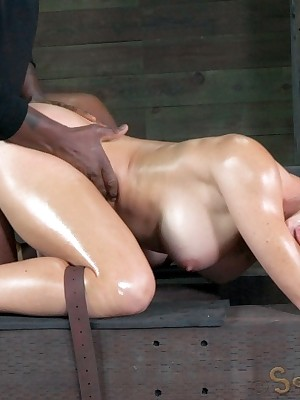 Sexually Operating | Instinctive Bondage, Libellous Villeinage Sex, Dire Orgasms | Cherie DeVille Gets Beaten Off out of one's mind Dig up