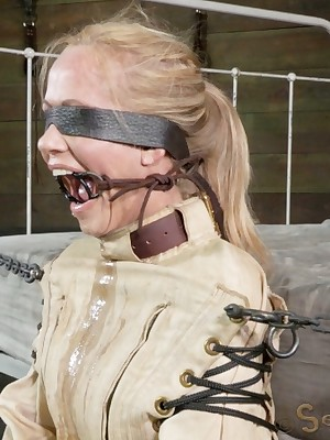 Sexually Wince | Instinctive Bondage, Obscene Servitude Sex, Dire Orgasms | Simone Openly Jacketed increased by Dicked Near