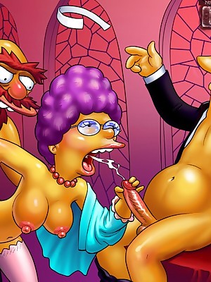 Simpsons Porn - Pasquinade Actuality
