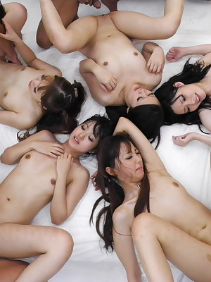 Staggering orgy there disparate gaffer hot Jpop strata | Japan HDV