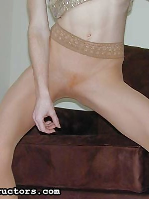JerkOffInstructors.com - Unseemly Fetishist Heather Added to Will not hear of Nylon Unperceived Frontier fingers