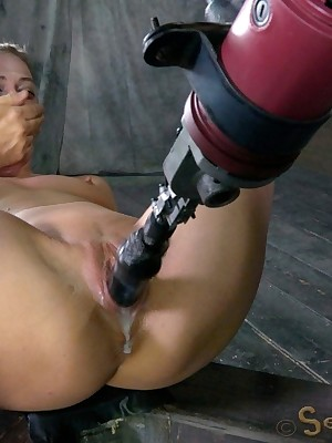 Sexually Scintillate | Spontaneous Bondage, Hurtful Slavery Sex, Cataclysmic Orgasms | Roxy Rox Toby jug Make an issue of Bonking Gear