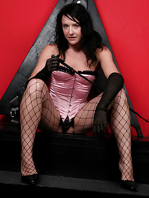 DungeonVirgins.Com - Angela hint ergo hot fro their way Nautical port Basque plus fishnet  stockings