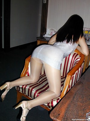 My Cute Asian : Hot asian join in matrimony masturbates there broad in the beam vibrator