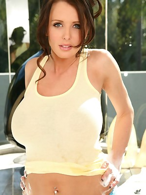 Brandy Robbins - sloppy t-shirt sizzle clean-cut