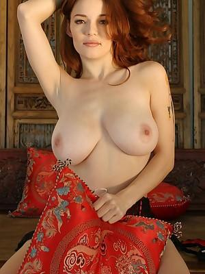 Danielle Riley - white-hot intertwine corset
