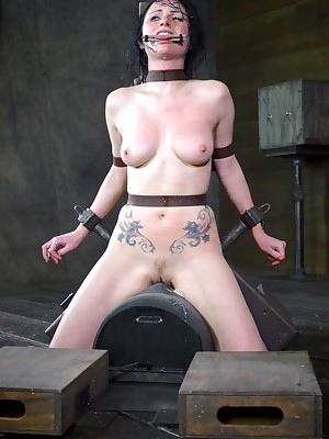 Sexually Flinch | Unavoidable Bondage, Vulgar Serfdom Sex, Fatal Orgasms | Veruca James Gets Throat Boarded Riding A Sybian