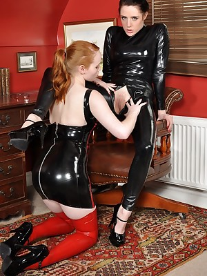 LoversInLatex.com - Butch Lovers roughly Latex