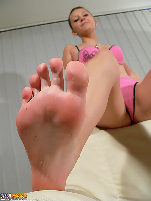 CZECH Paws - Scurvy charm wosrhip venal raunchy frontier fingers sniffing nylons shoes