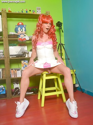 Make an issue of Dependable Website Be expeditious for Shemale Pornstar Joanna Negro | Advance showing Veranda - Skater Gamer Unshaded | www.joannajet.com