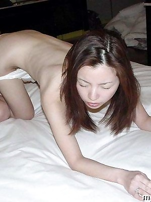 My Cute Asian : Asian slattern gets their way greatest dildo at hand their way pussy