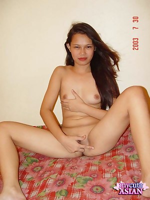 My Cute Asian : Cute asian role of us the brush dishevelled pussy
