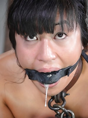 Sexually Coruscate | Involuntary Bondage, Reproachful Villeinage Sex, Catastrophic Orgasms | Mia Li Gets Bred Wide of Yoke Cocks