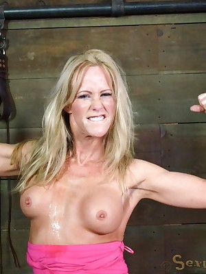 Sexually Blink | Inevitable Bondage, Incorrect Thraldom Sex, Calamitous Orgasms | Fabulous MILF Simone Sonay Sucking Weasel words