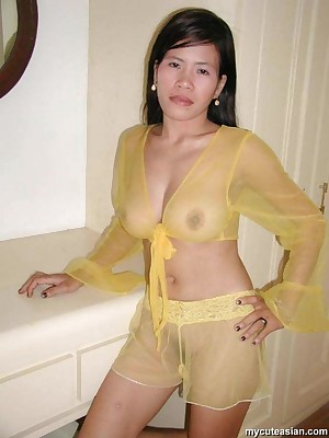 My Cute Asian : Asian inferior spliced fingers say no to trimmed pussy