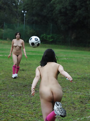 Japanese girls effectuation soccer yes overt | Japan HDV